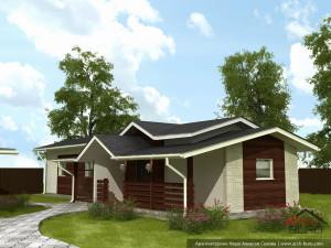 Архитектурный проект малого гаража