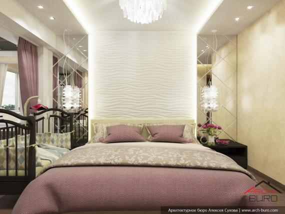 Дизайн интерьера спальни. Ташкент. Узбекистан