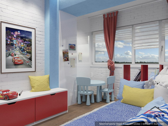 Дизайн комнаты мальчика. г. Ташкент