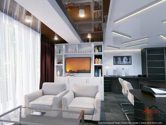 Дизайн офиса директора в г.Челябинск