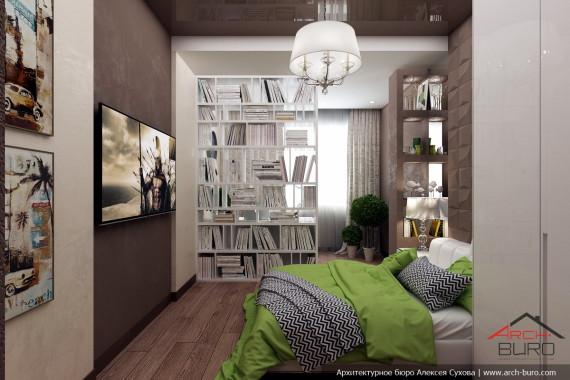 Комната подростка. Коттедж в Южно-Сахалинске