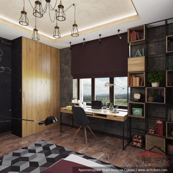 Дизайн комнаты подростка. Мытищи