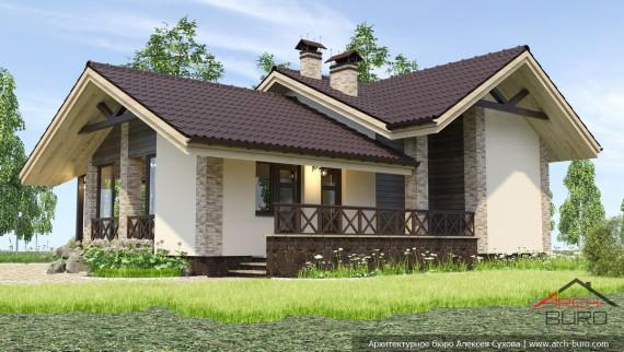 Проект маленькой бани в Челябинской области