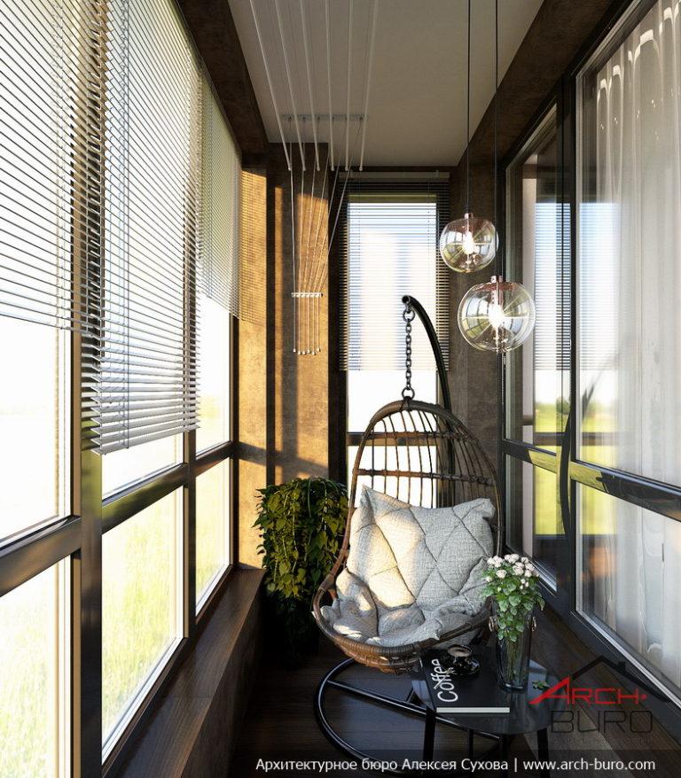 Функциональный интерьер квартиры в г. химки московской облас.