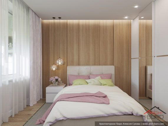 Спальная комната девушки