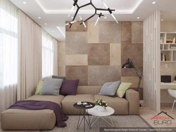 Дизайн квартиры СПБ. Дизайн гостиной