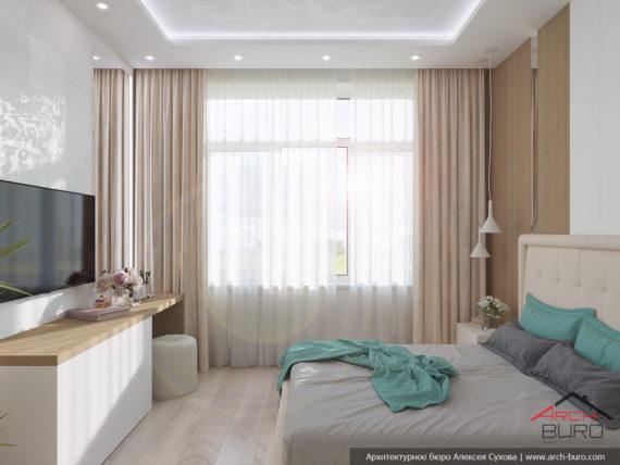 Дизайн квартиры СПБ. Дизайн спальни