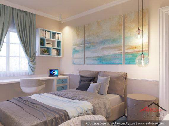 Апартаменты на острове Тенерифе, Испания. Интерьер спальни