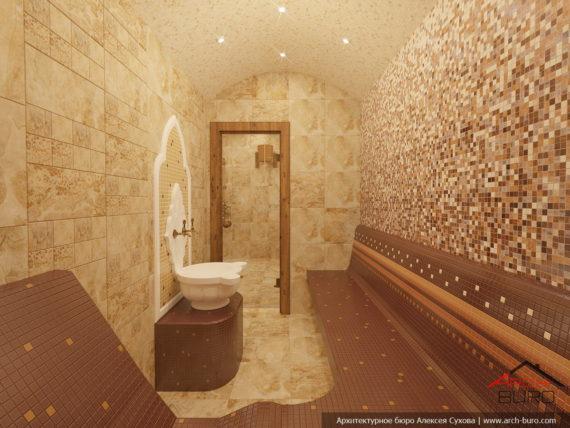 Дизайн интерьера бани. Хаммам