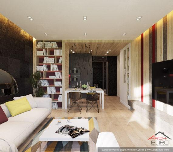 Квартира в Сочи. Дизайн-проект студии