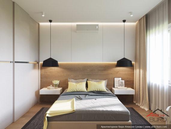 Трехкомнатная квартира в г. Нижний Тагил. Спальня
