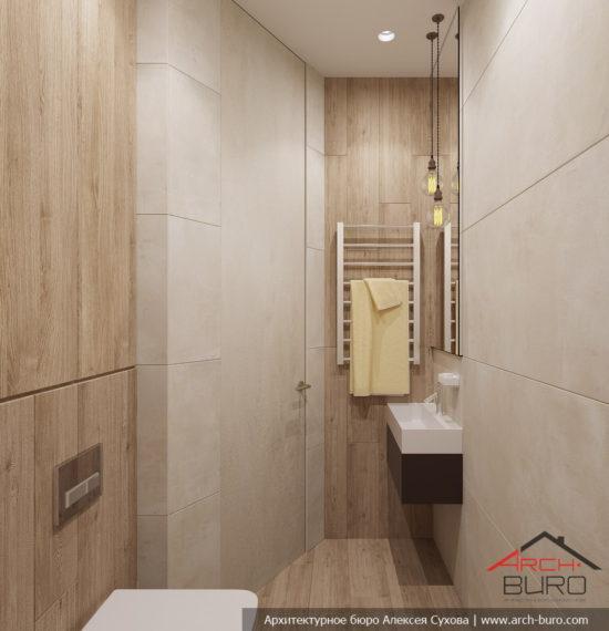 Декор квартиры в Тагиле. Туалет