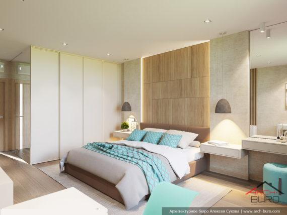 Идеи современного дизайна. Интерьер спальни