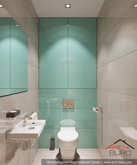 Идеи современного дизайна. Интерьер туалета
