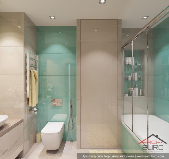 Идеи современного дизайна. Интерьер ванной комнаты