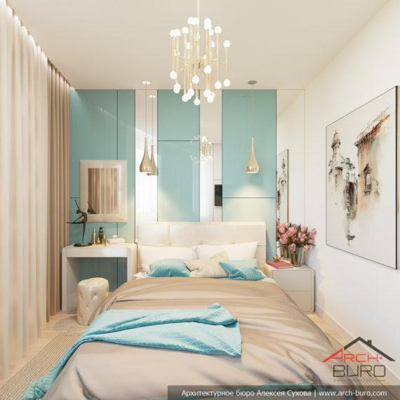 Белые интерьеры квартиры. Дизайн спальни родителей