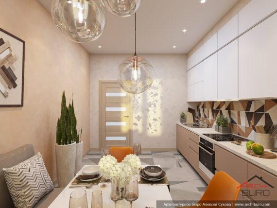 Дизайн кухни. Реутов