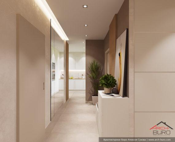 Дизайн квартиры в Москве. Прихожая