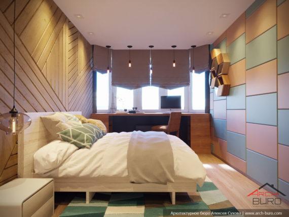 Интерьер спальни Евгении
