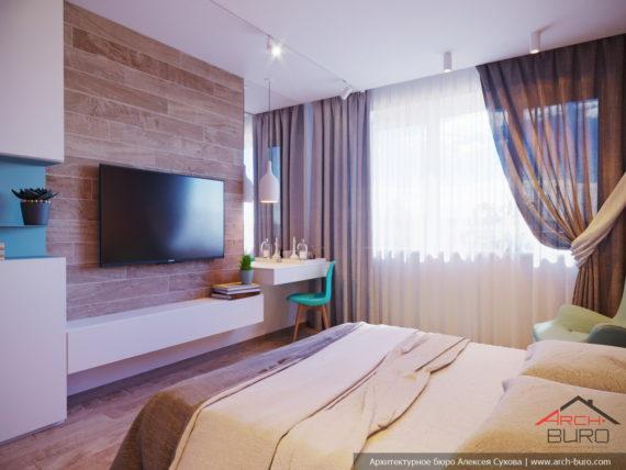 Интерьер спальни Марины