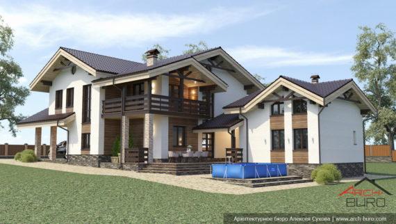 Большой дом с баней на маленьком участке г.Южно-Сахалинск