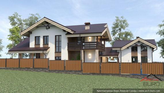 Проект дома. г. Южно-Сахалинск