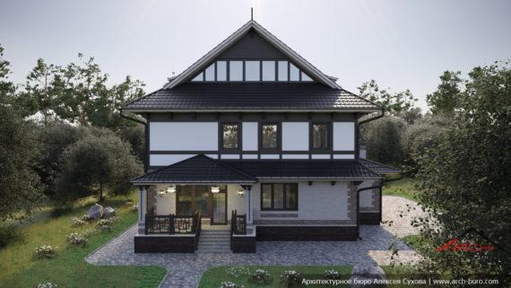 Проект дома Дзен