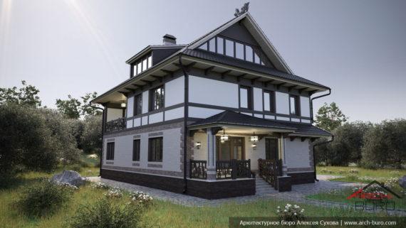 Дом в японском стиле Дзен