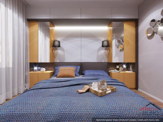 Дизайн и ремонт квартиры в Ташкенте. Интерьер спальни родителей