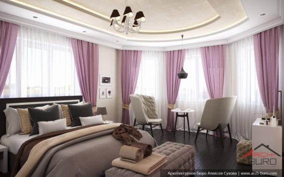 Красивые интерьеры в современной классике. Дизайн спальни