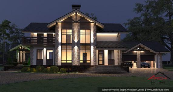 Проект освещения дома