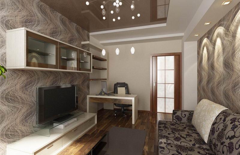 Ремонт зала дизайн зала