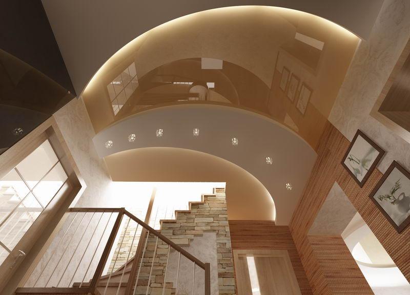 Коридор с арками дизайн фото