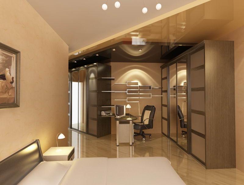 дизайн интерьера двухкомнатной квартиры: