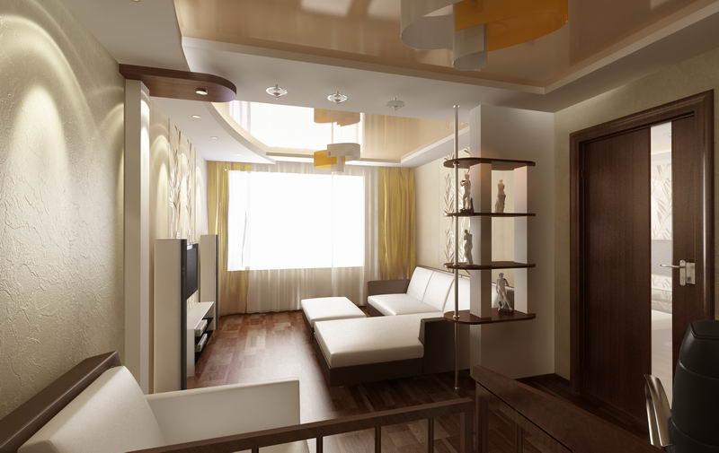 Дизайн интерьера комнаты для молодой