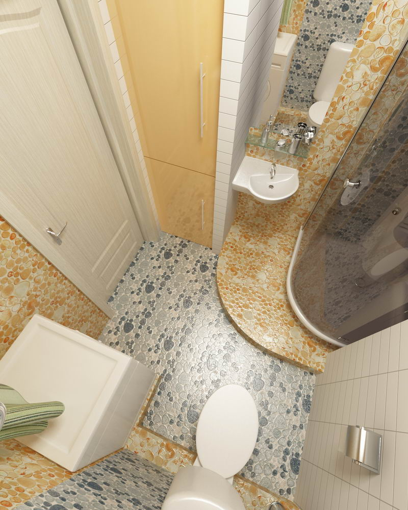 Дизайн гостевого туалета в г тарко