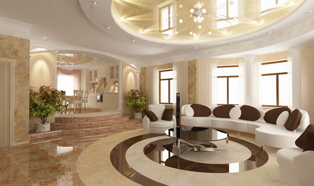 Кухня столовая 3d визуализация кухня