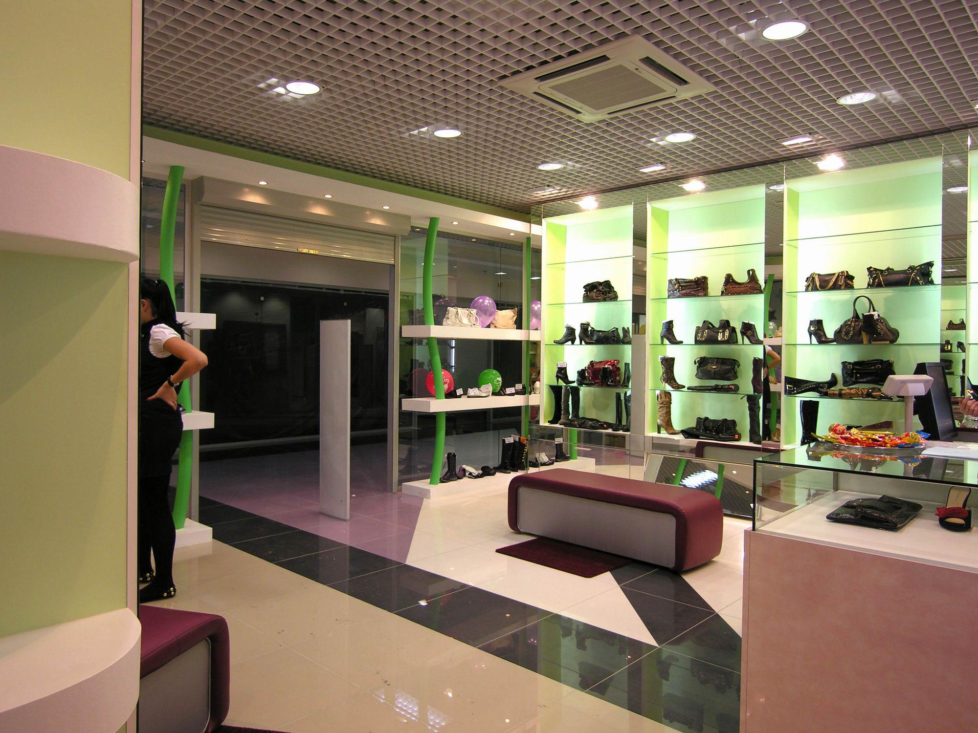 Фотографии интерьера магазина обуви | магазины