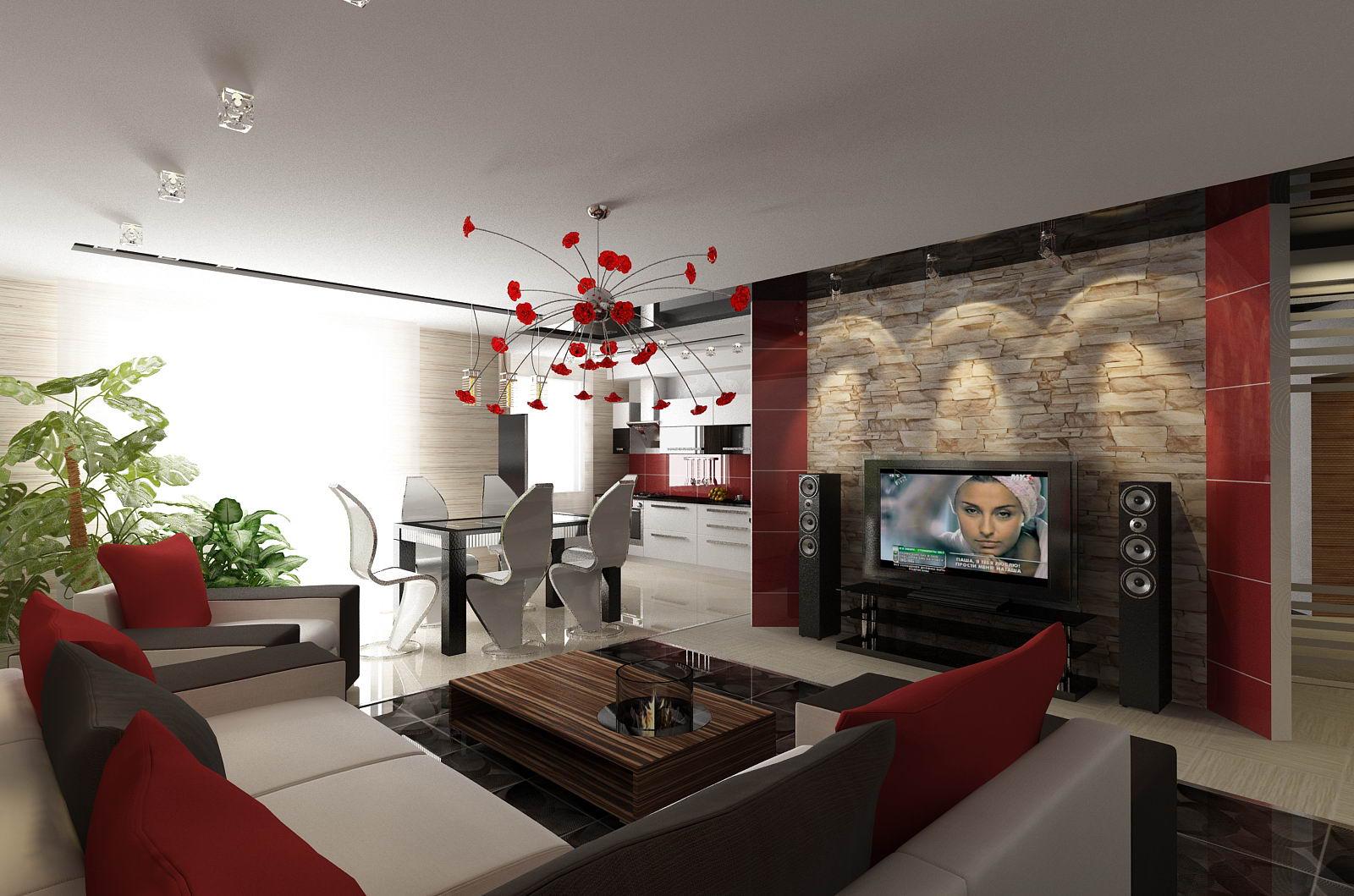 Дизайн интерьера квартир фото гостиная