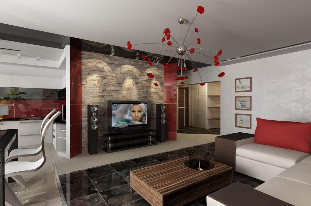 Дизайн интерьера кухня гостиная 30 м дизайн