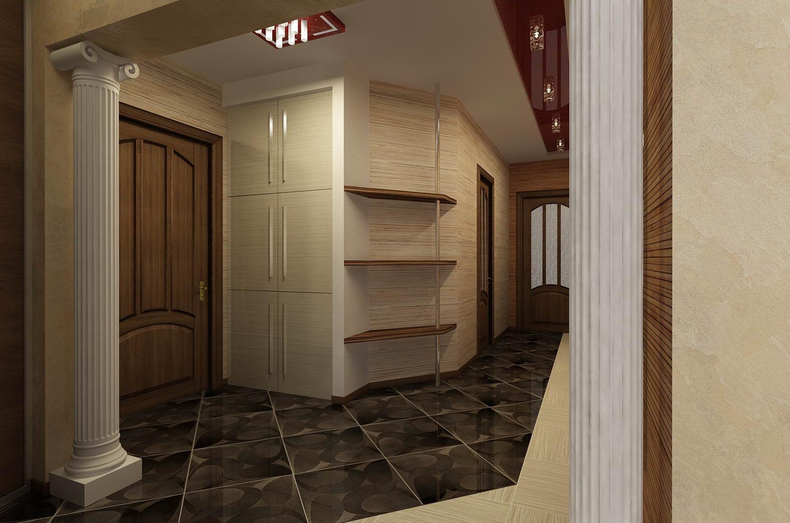 Классический интерьер коридор