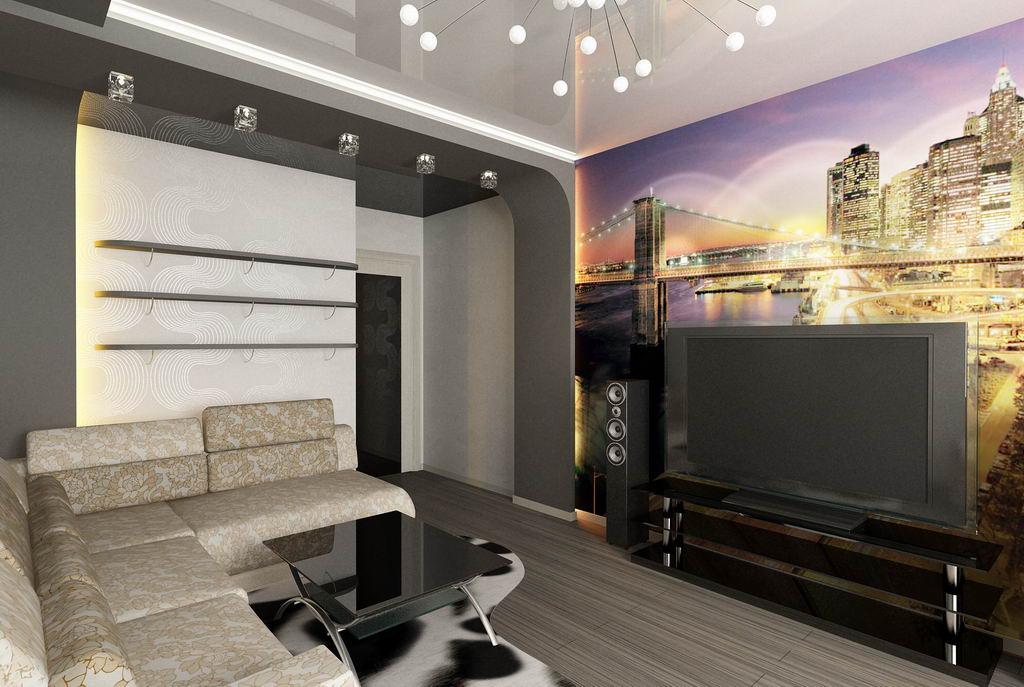 фото дизайны интерьера 2 х комнатных квартир #2