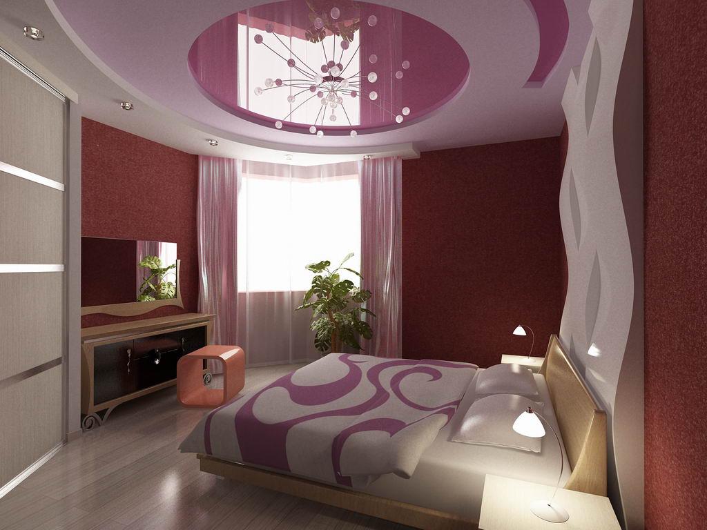 Интерьер квартиры с большой спальней