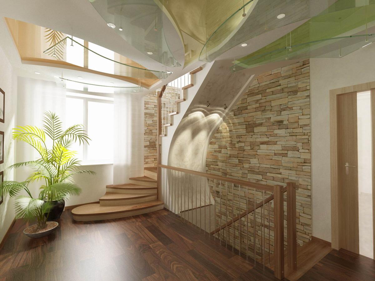 Дизайн лестничных проемов в частном доме