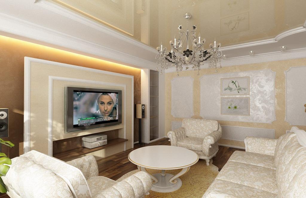 Гостиная 18 кв м с камином дизайн