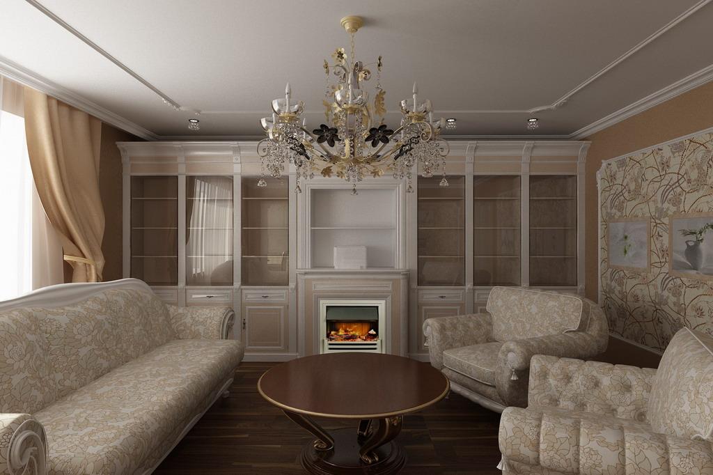 Дизайн дома в классике