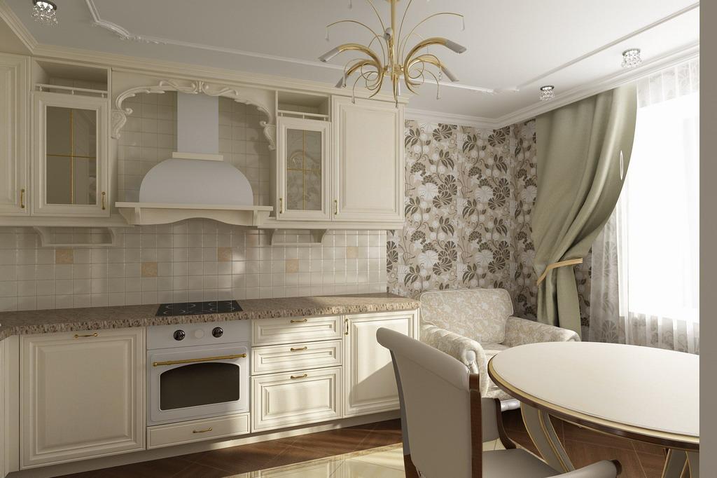 Дизайн однокомнатной квартиры 60 кв.м