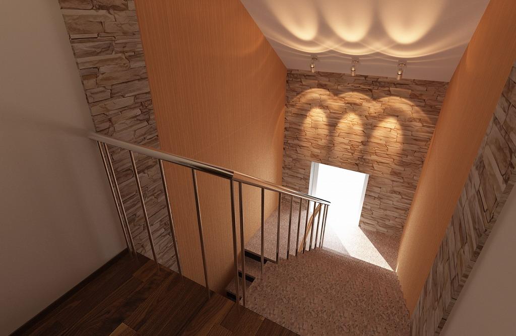 Дизайн холла в коттедже