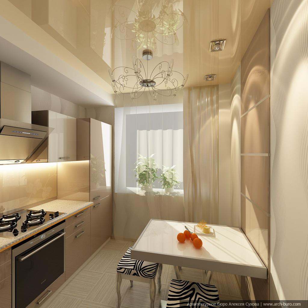 Фото дизайна кухонь для малогабаритных