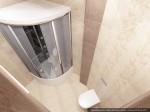 Дизайн квартиры в таунхаусе. Туалет